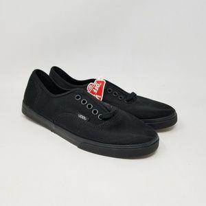 Vans Authentic Lo Pro Black Sneakers Men's Size 6